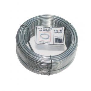 Galvanised Line Wire 25m