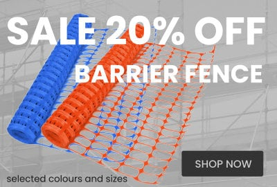 Sale 20% Off Barrier Fence